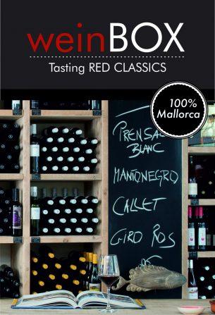 Shopbanderole Tasting Red Classics